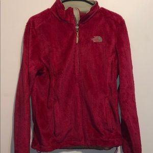 Pink North Face Coat